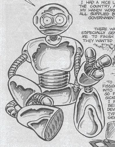 Fugitoid from comics (2)