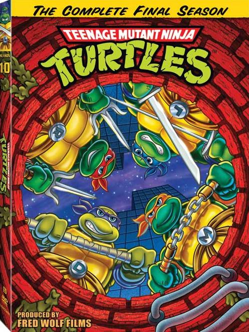 DVD-cover 10 season TMNT