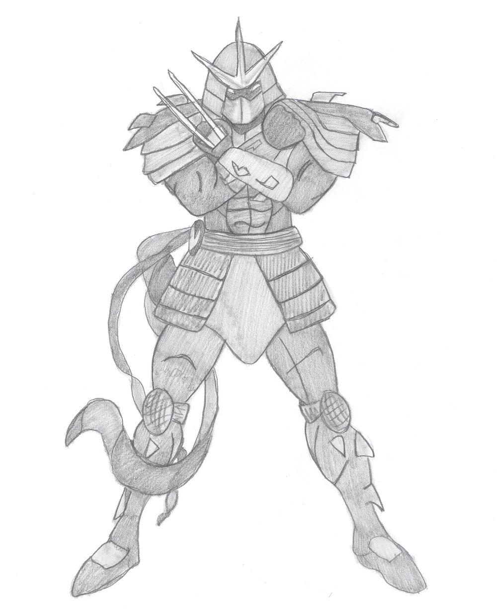 Shredder (by Ekaterina)