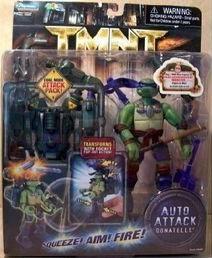 Auto Attack Donatello (boxed)