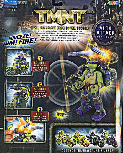 Auto Attack Donatello (boxed) 2