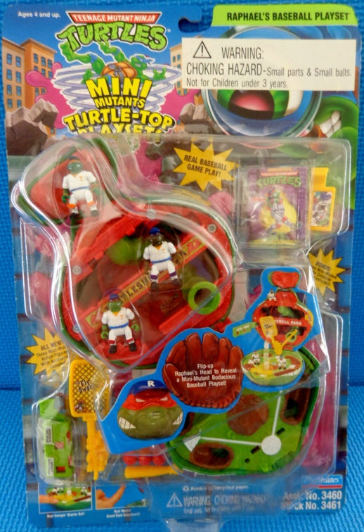 Raphael's Baseball Playset (boxed)