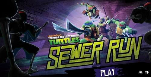 TMNT: Sewer Run (screenshot)