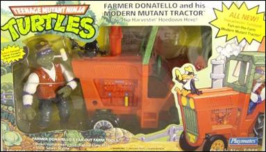 Farmer Don with Modern Mutant Tractor (boxed)