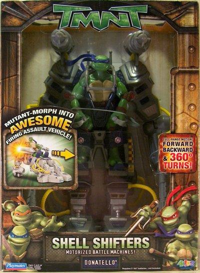 Shell Shifters Donatello (boxed)