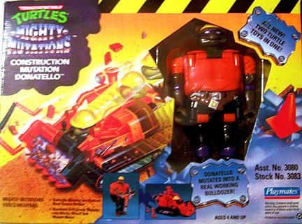 Construction Mutatin' Donatello (boxed)