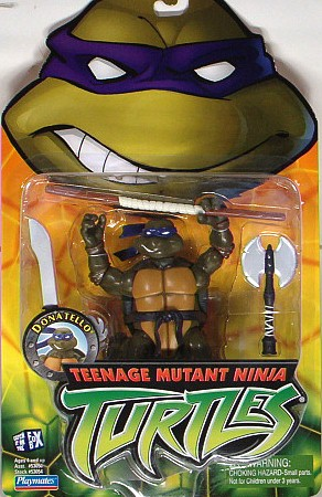 Donatello, 2003 action figure (boxed)