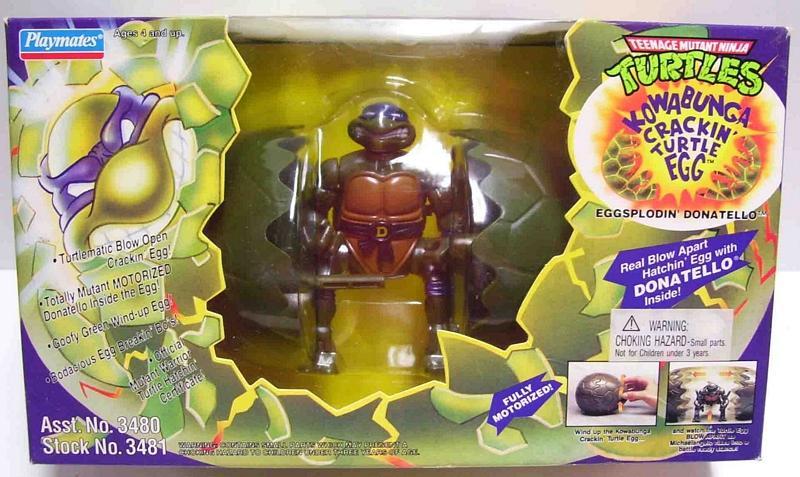 Kowabuga Crackin' Turtle Egg Donatello (boxed)