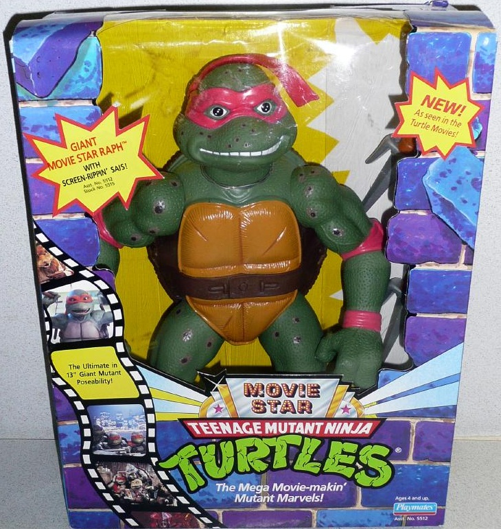 Giant Movie Star Raph (boxed)