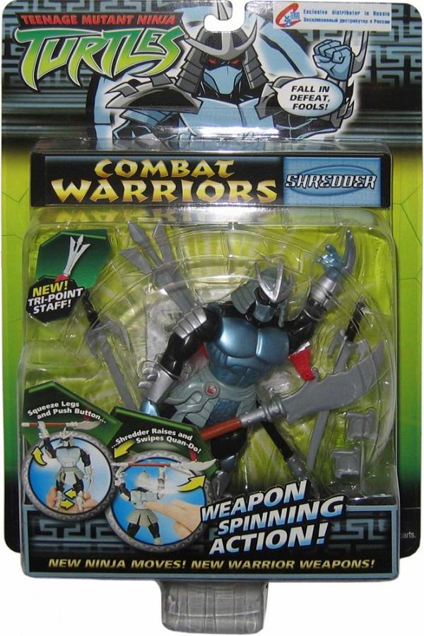 Combat Warriors: Shredder (boxed)