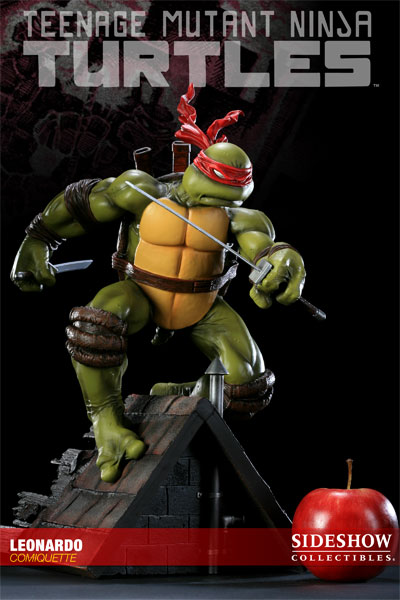 Leonardo from Sideshow Collectibles (statue)