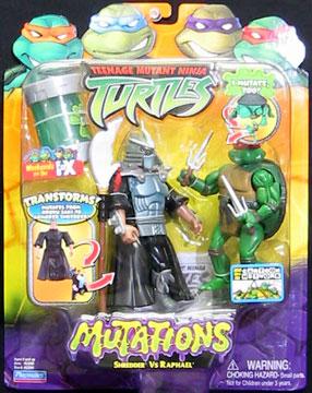 Mutations. Shredder vs. Raphael (boxed)