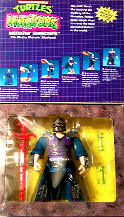 Mutations: Mutatin' Shredder (boxed) 2