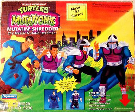 Mutations: Mutatin' Shredder (boxed)