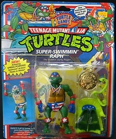 Super Swimmin' Raph (boxed)