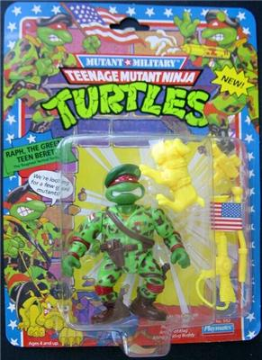 Raph, the Green Teen Beret (boxed)