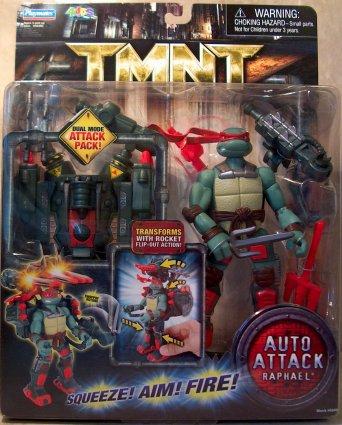 Auto Attack Raphael (TMNT 2007 film) boxed