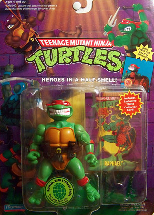Raphael with Storage Shell, reissue (boxed)
