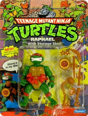 Raphael with Storage Shell (boxed)