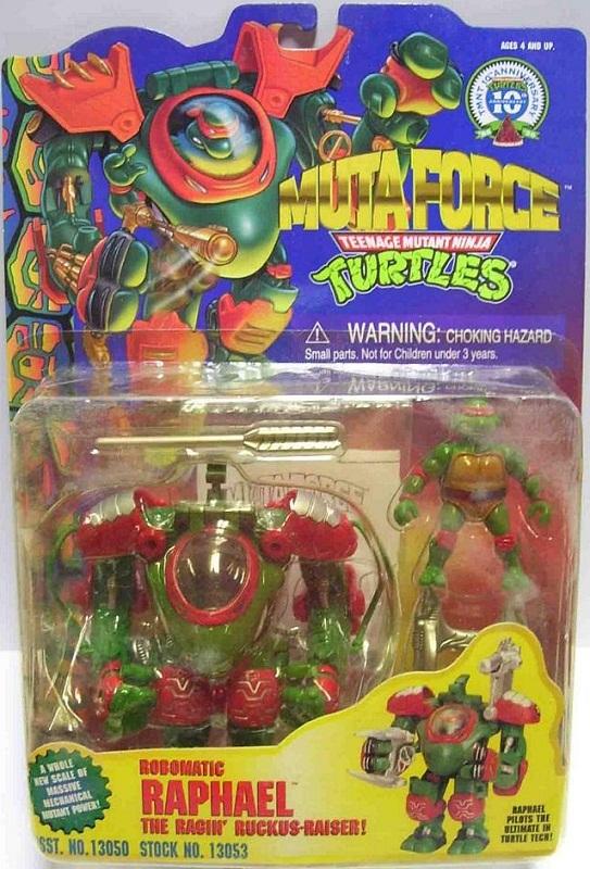 Robomatic Raphael (boxed)