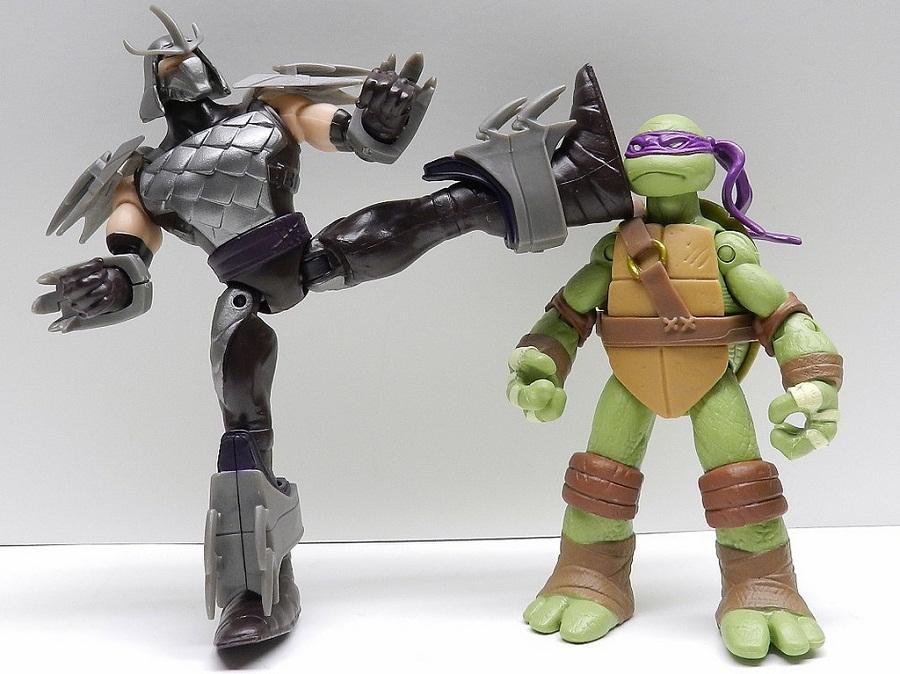 Shredder 2012 action figure