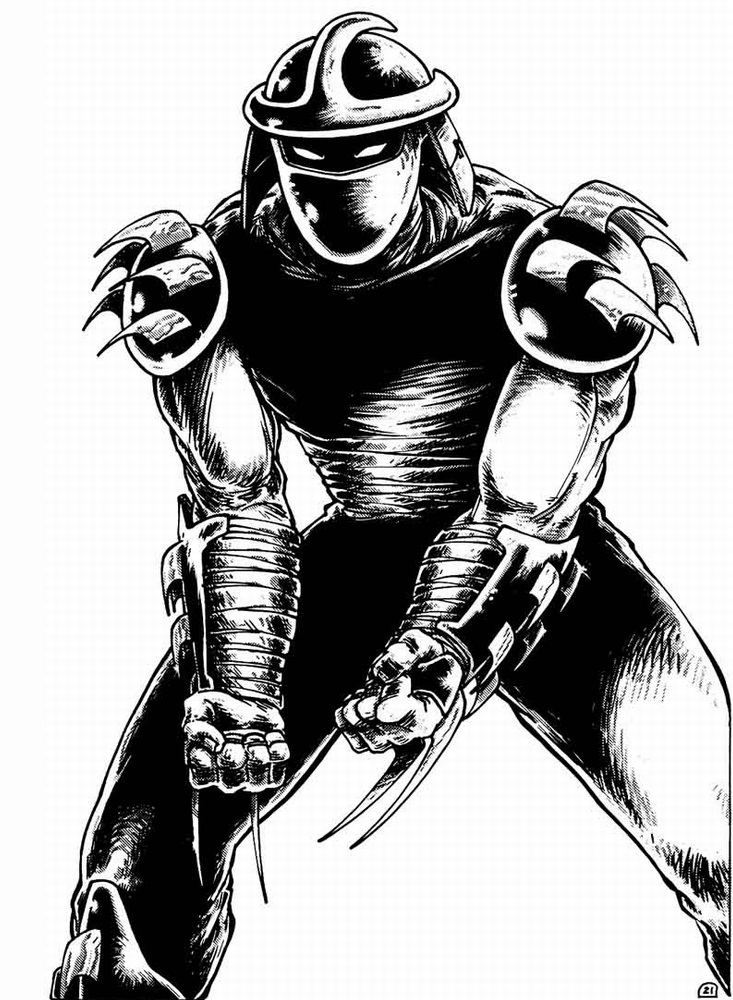 Shredder from comics (4)