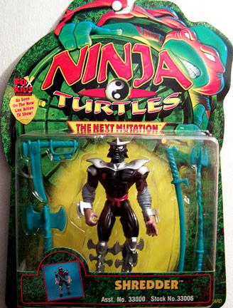 Shredder from Next Mutation (boxed)