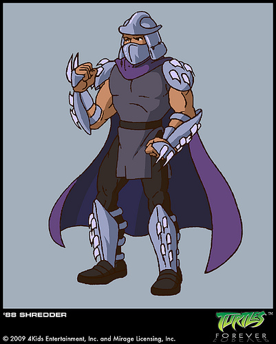 Shredder (concept 1987)