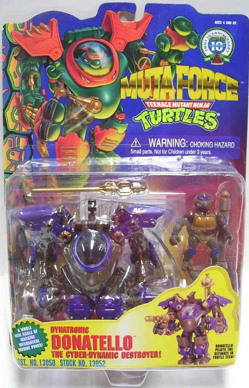 Dynatronic Donatello (boxed)