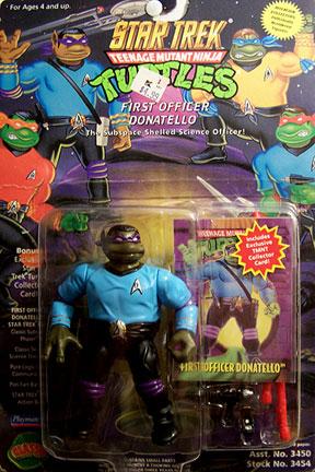 Star Trek. First Officer Donatello (boxed)