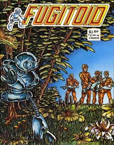 Fugitoid from comics