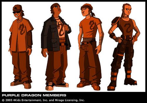 The Purple Dragons (concept 2003) 2