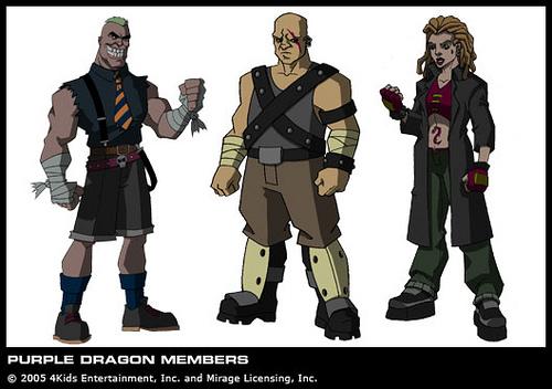 The Purple Dragons (concept 2003) 3