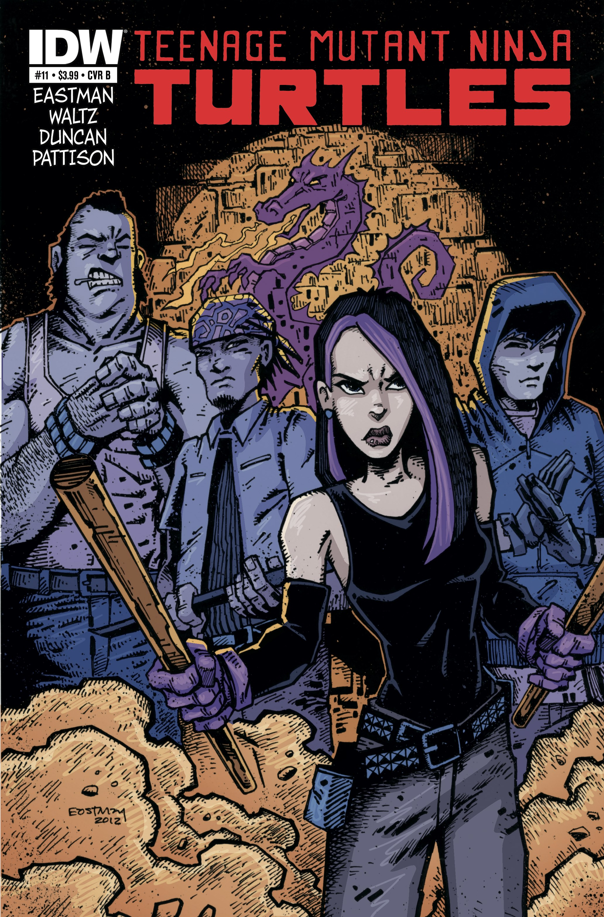 Purple Dragons from comics (4)
