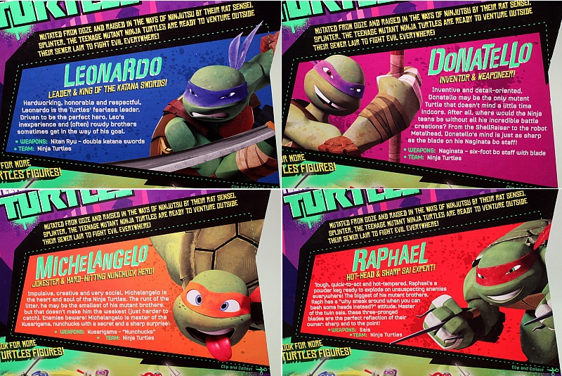 TMNT 2012, profiles