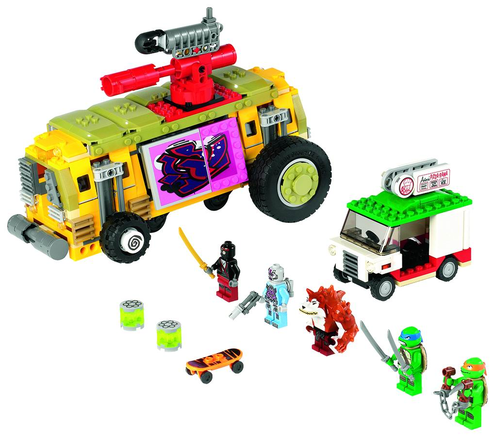 TMNT LEGO Set