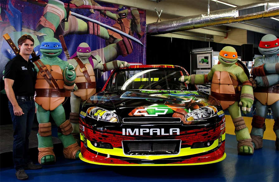 TMNT and Gordon