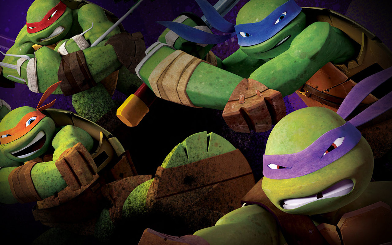 TMNT 2012 wallpapers (12) 1280х800