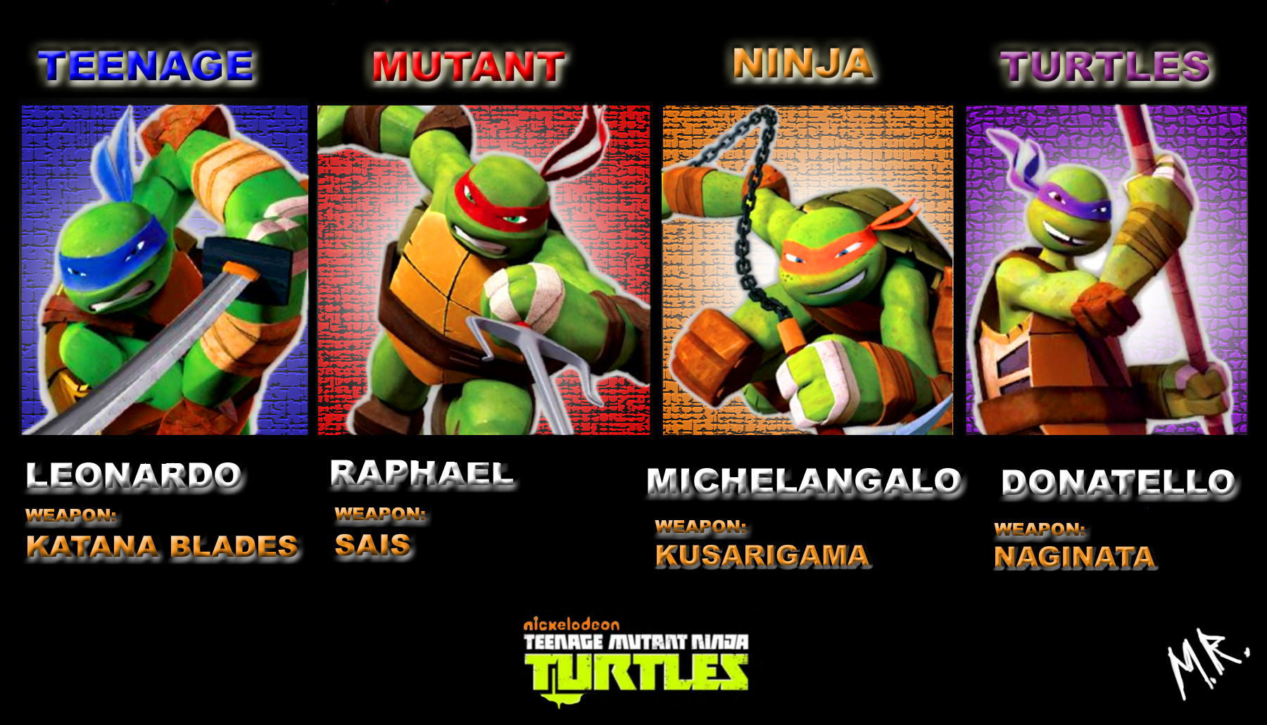 TMNT 2012 wallpapers (9) 1800x1030