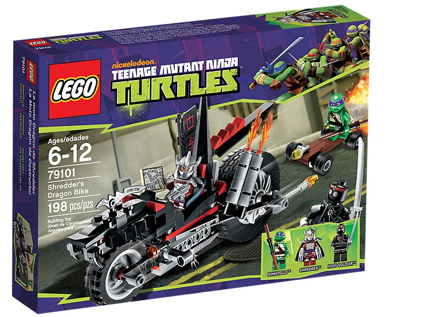 Lego. Shredder's Dragon Bike