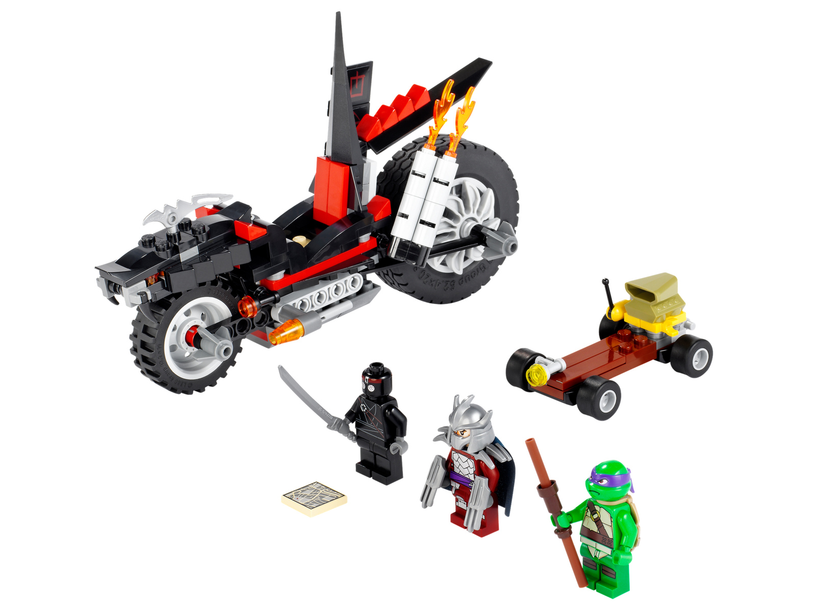 Lego. Shredder's Dragon Bike (2)