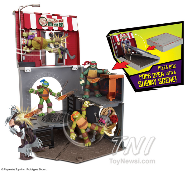 Anchovy Alley Playset