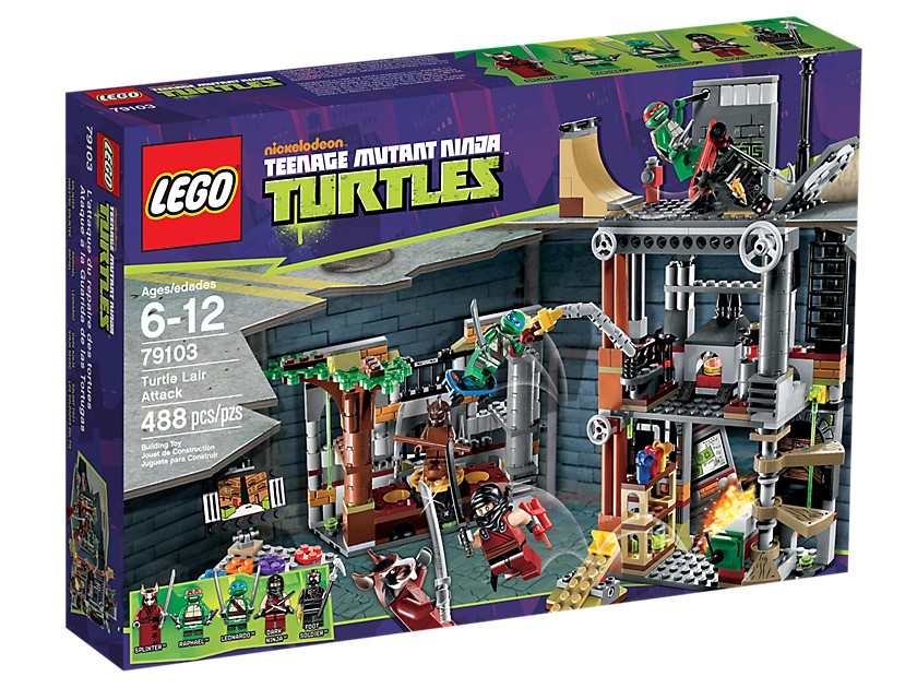 Lego. Turtle Lair Attack
