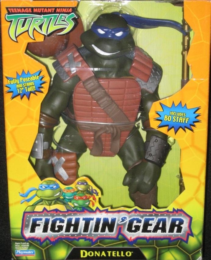"""12"""" Fightin' Gear Donatello (boxed)"""