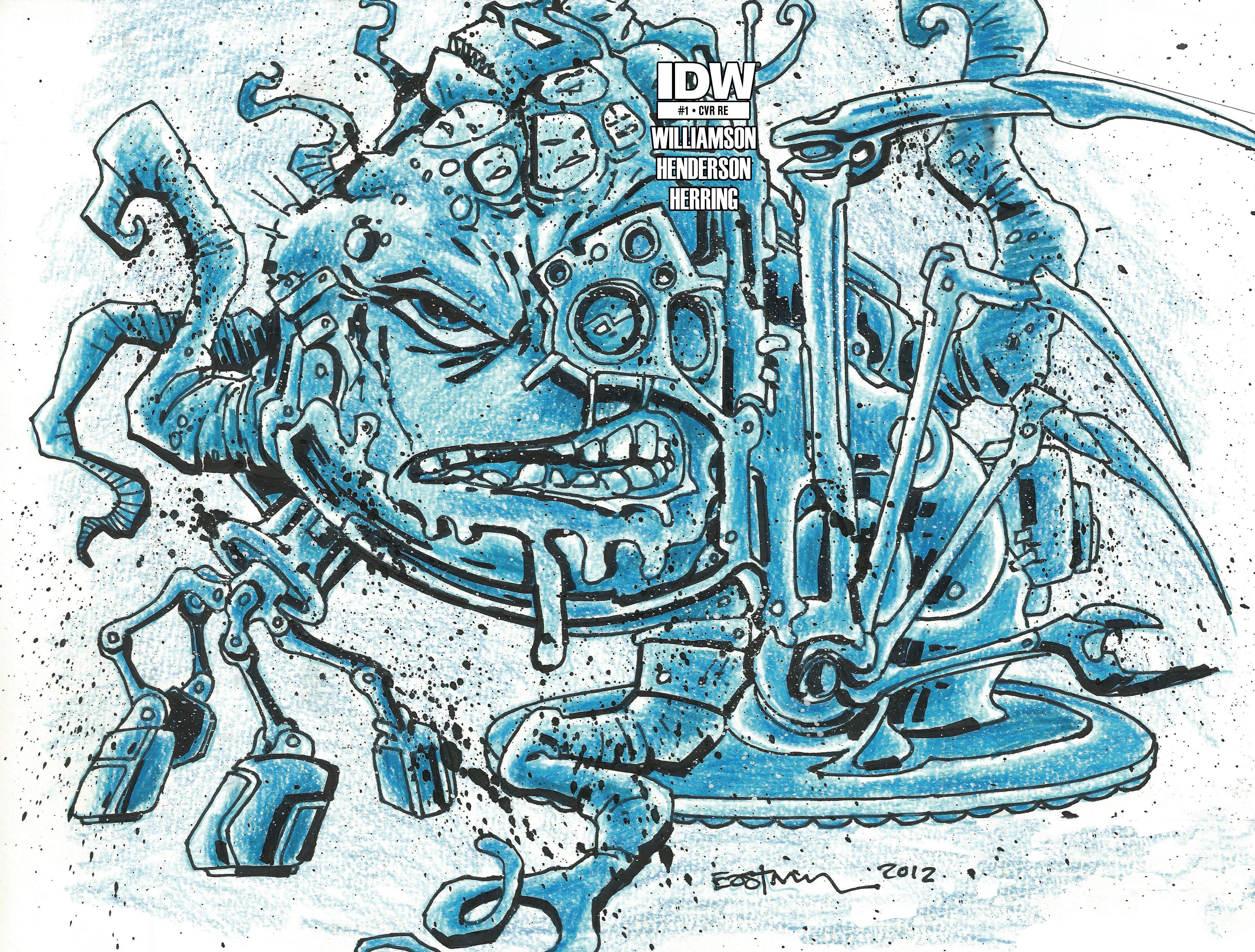 Cover RE Jetpack Comics (Kevin Eastman)