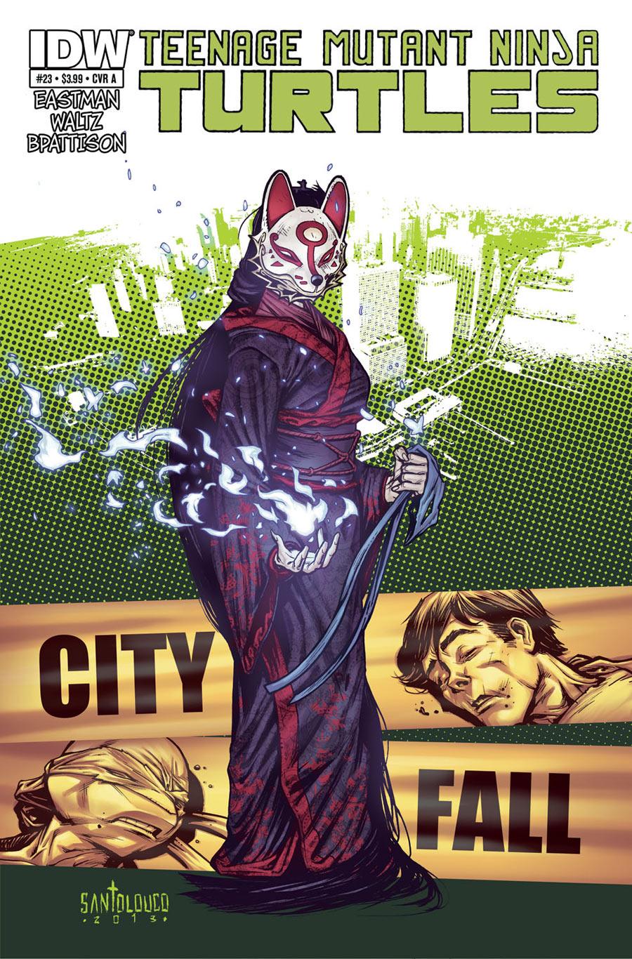 IDW TMNT #23 Cover by Mateus Santolouco