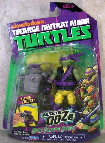 Ooze Scooping Donnie (boxed)