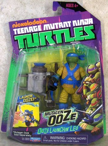 Ooze Scooping Leo (boxed)