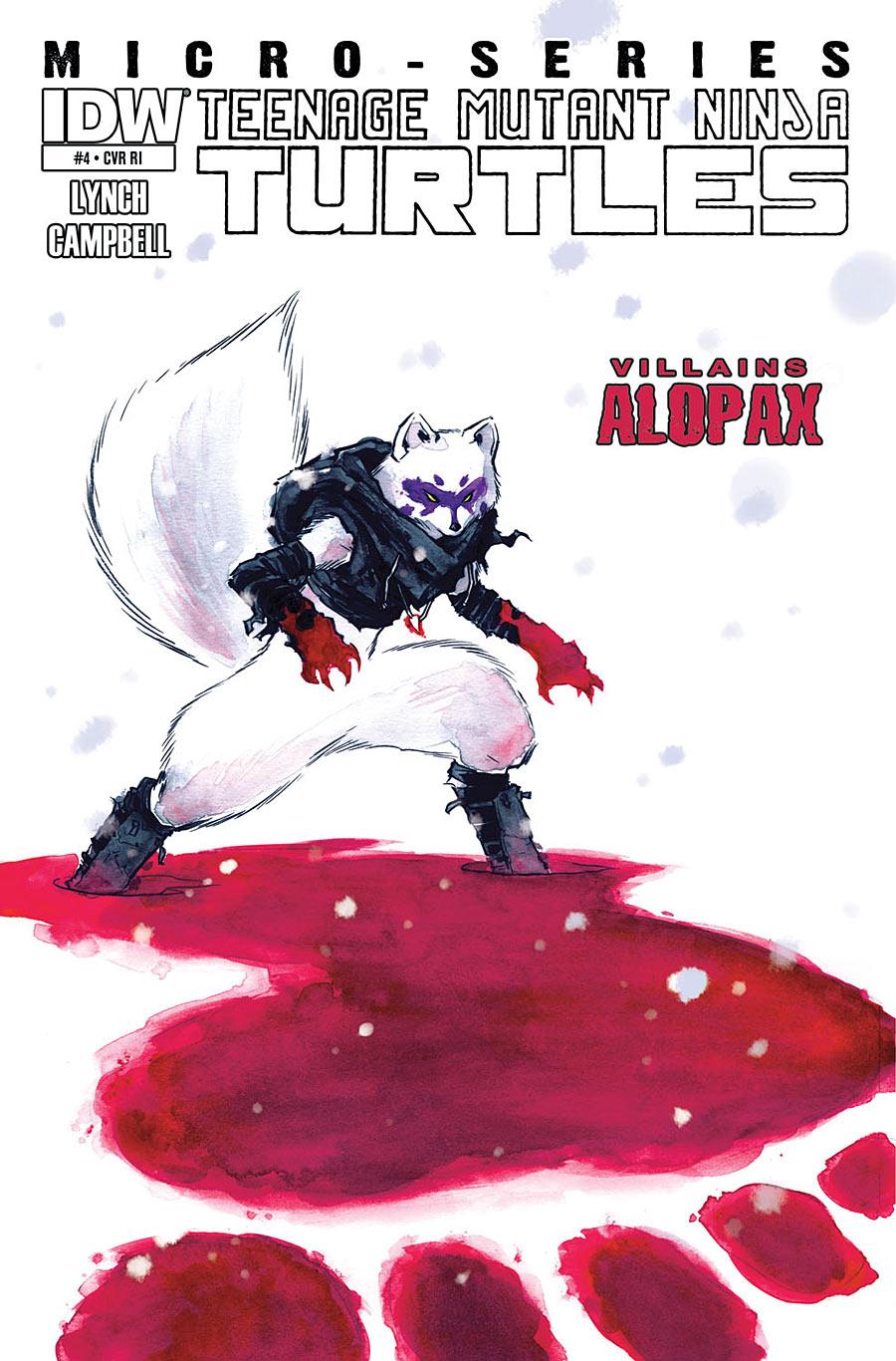 Villain Micro-series #4: Alopex