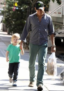 Will Arnet with son (2)